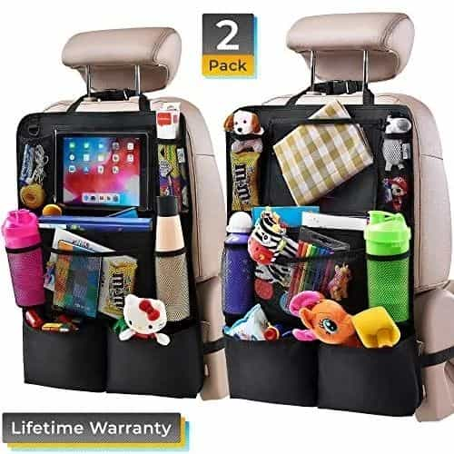 Jeep Wrangler Backseat Organizers with Tablet Holders
