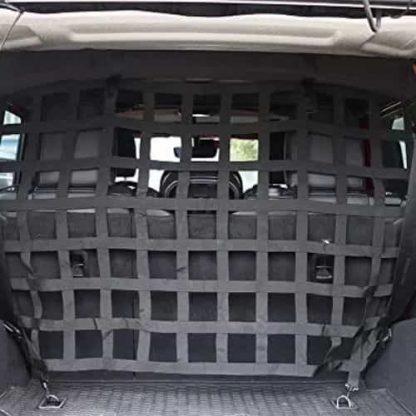 Jeep Wrangler Mesh Dog Barrier