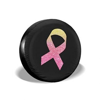 Jeep Pink Ribbon Spare Tire Cover