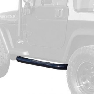 MaxMate Jeep Wrangler TJ Black Running Boards