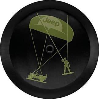 Mopar Green Army Men Spare Tire Cover