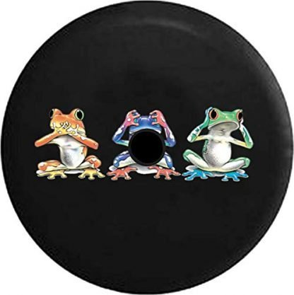 Pike Outdoors Hear See Hear No Evil Frogs Tire Cover