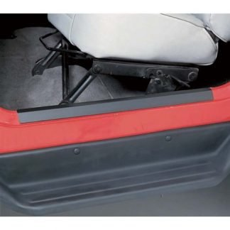 Rugged Ridge Jeep Wrangler TJ Black Entry Guard Kit