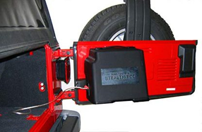 Select Increments Jeep Wrangler Stealth Subwoofer Pod