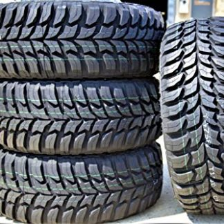Set of 4 Crosswind Mud-Terrain Radial Tires