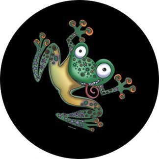 Tire Cover Central Flippin Frog Spare Tire Cover