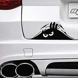 TooCust Jeep Monster Eyes Peeking Decal