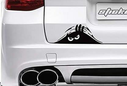 TooCust Jeep Monster Eyes Peeking Decal