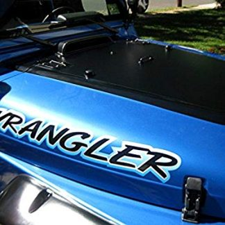Vinyl Wrangler Hood Decal Sticker