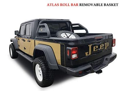 Black Horse Jeep Gladiator Roll Bar for Truck Bed