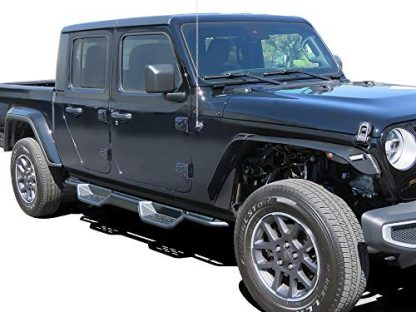 Drop Down Style Jeep Gladiator Side Step Rock Sliders