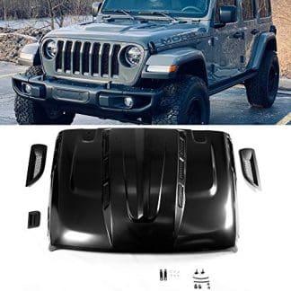 Avenger Style Jeep Wrangler JL Steel Hood
